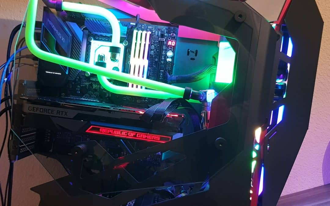 RTX 2080 Ti MATRIX MONSTER By Jason Jardine! - Rockin IT